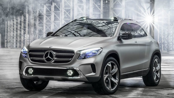 Концепт Mercedes-Benz GLA