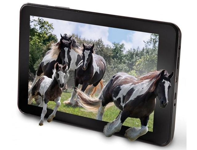 Hammacher Schlemmer The No Glasses 3D Tablet – планшет із 3D, без окулярів