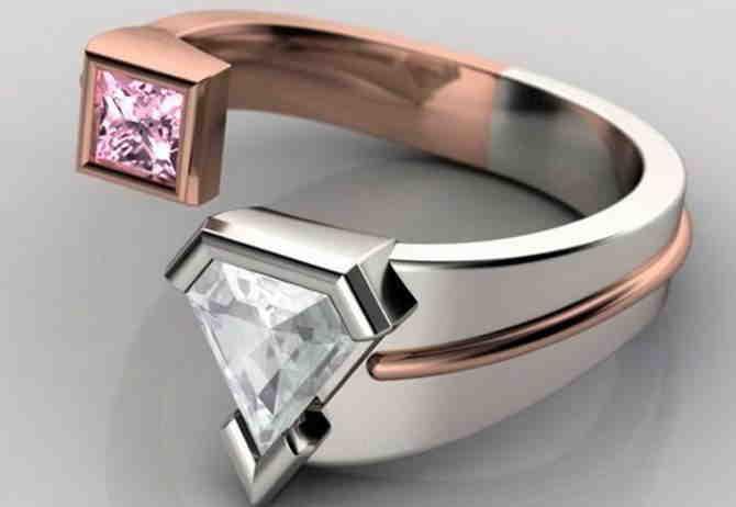 Довольно странные или даже можно сказать вызывающие, но уж точно необычные обручальные кольца. . Как они вам