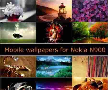 N900 mobile wallpapers